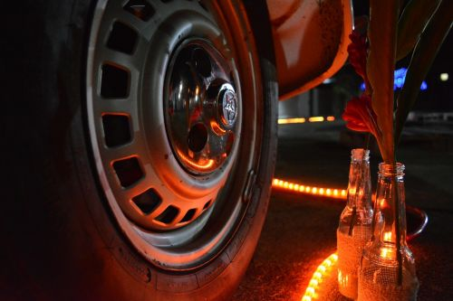 fusca bottle lights