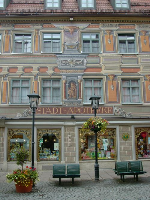 füssen city pharmacy imposing