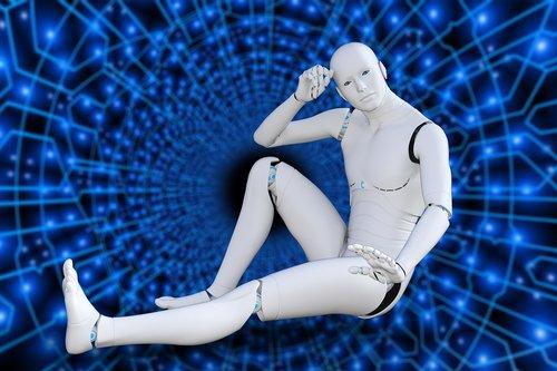 futuristic  robot  cyborg