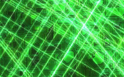 futuristic background laser