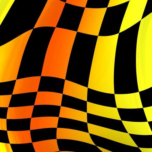 Futuristic Checkerboard