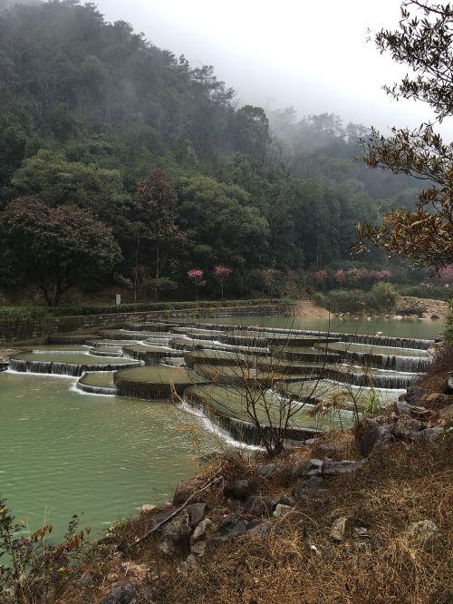 fuzhou forest park heavy rain