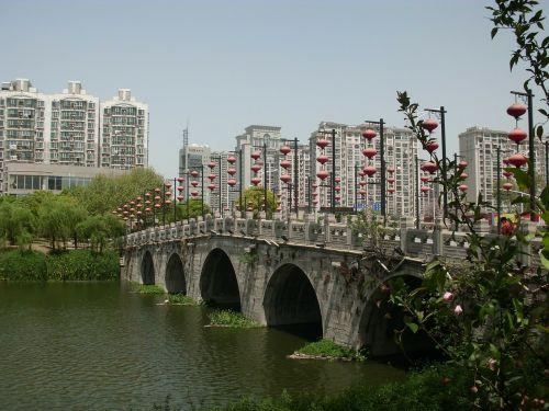 fuzimiao surroundings bridge nanjing
