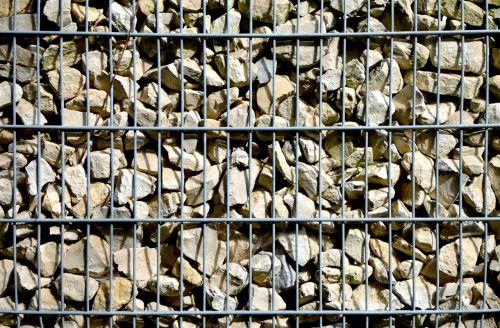 gabionen wall stone wall grid wall