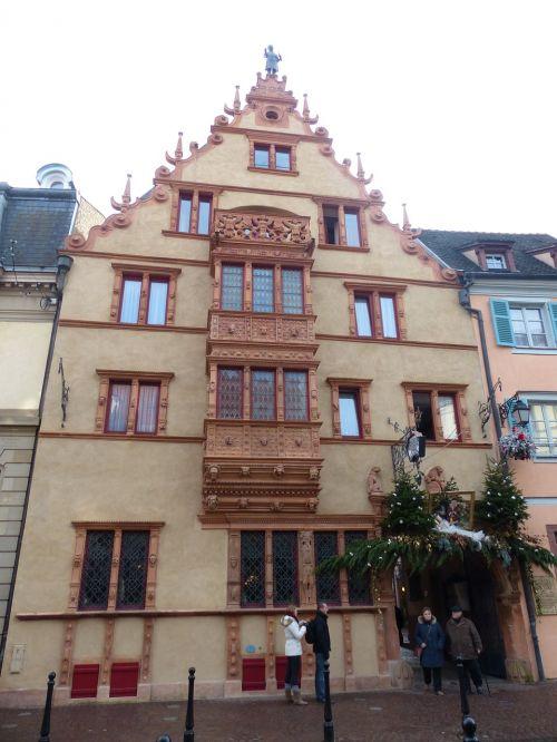 gable facade old town