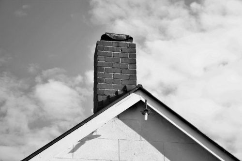 Gable End And Chimney