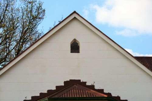 Gable End Of House