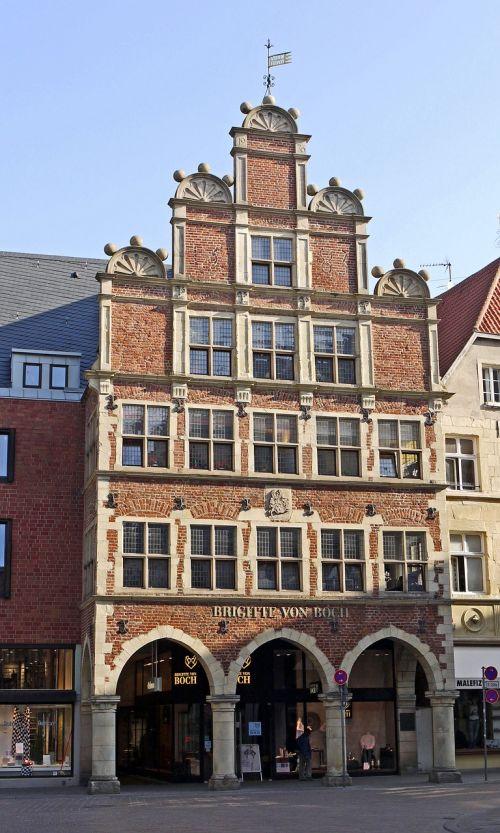 gable house münster westphalia historic preservation