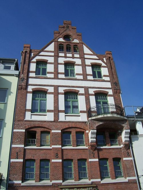 gable house gable old town