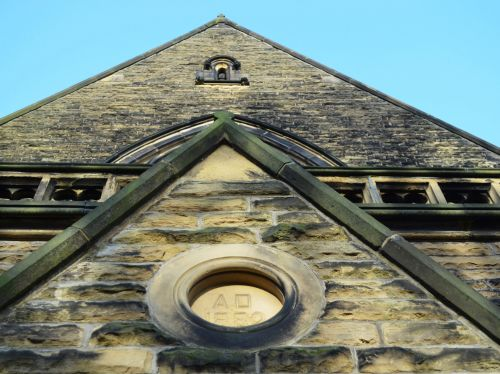 Gable Wall Of The Church