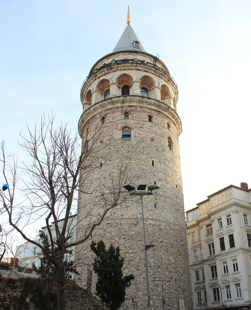 galata  galata tower  turkey