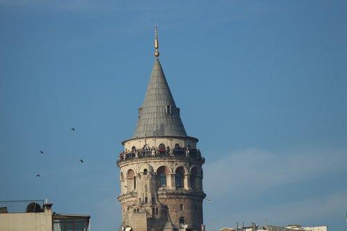 galata  galata tower  istanbul