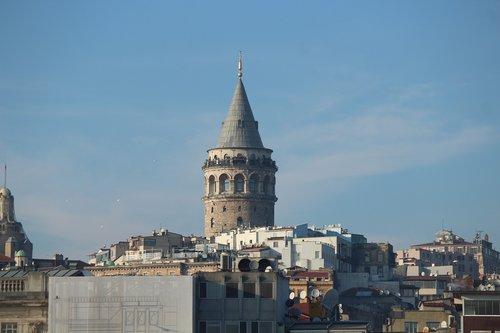galata  galata tower  tower