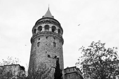 galata tower turkey architecture