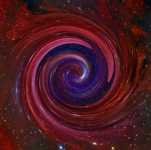 galaxy fog kosmus