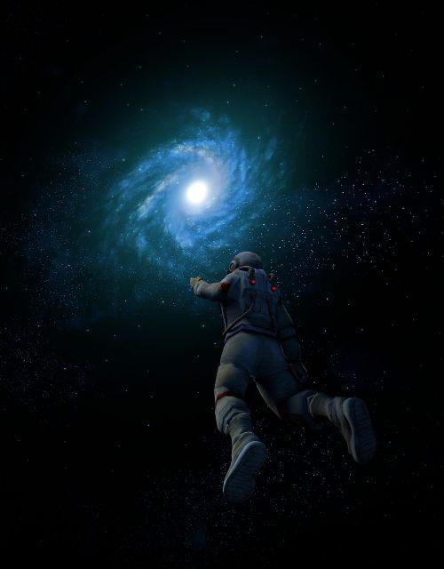 galaxy astronaut space