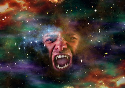 galaxy space face