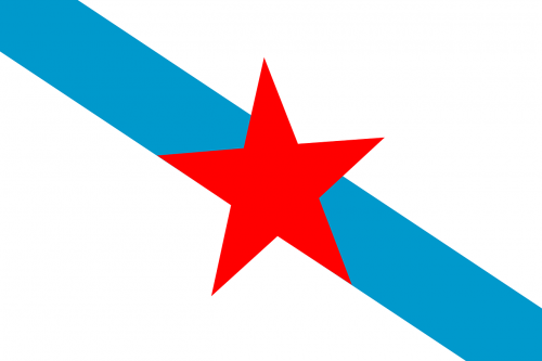 galician nationalism flag political movement