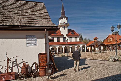 galician town replica town
