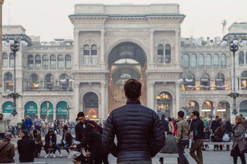 galerija,galerija vittorio emanuele ii,istorinis pastatas,italy