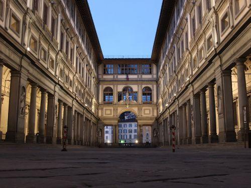 gallery galleria degli uffizi italy