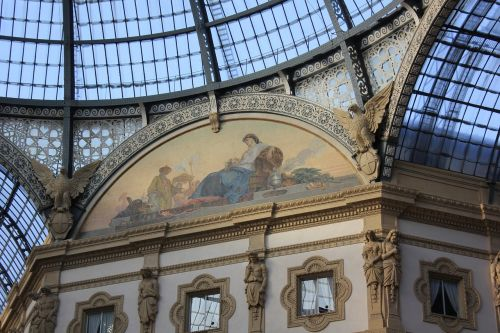 gallery milan frescoes