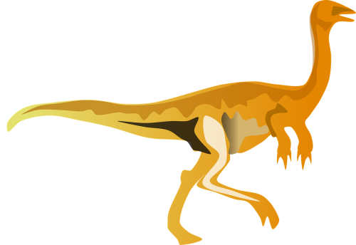 gallimimus dinosaur reptile