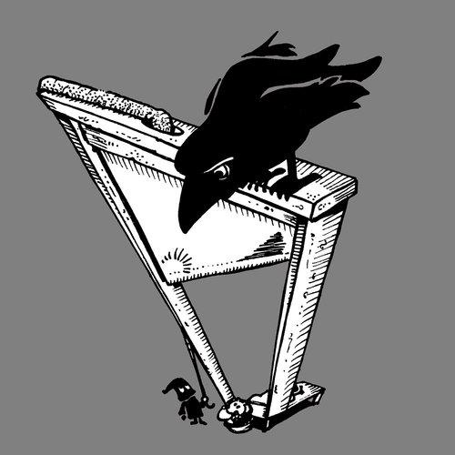 gallows  raven  chopped