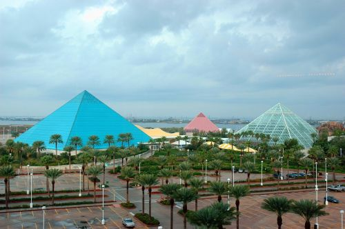 galveston texas pyramids
