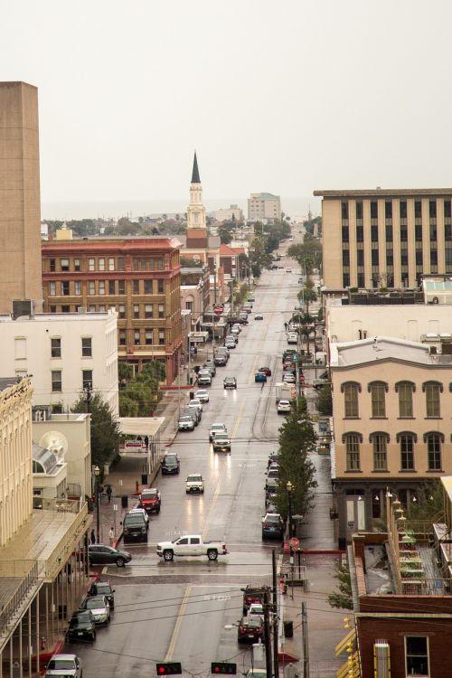 galveston city street