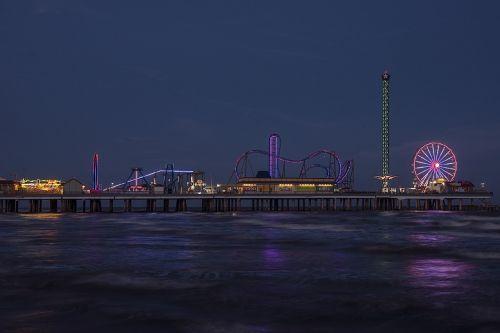 galveston amusements skyline