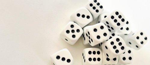 gamble  cube  gambling