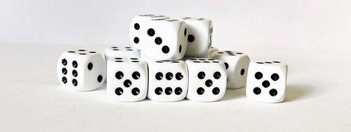 gambling  gamble  cube