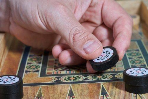 gambling  hand  gamble