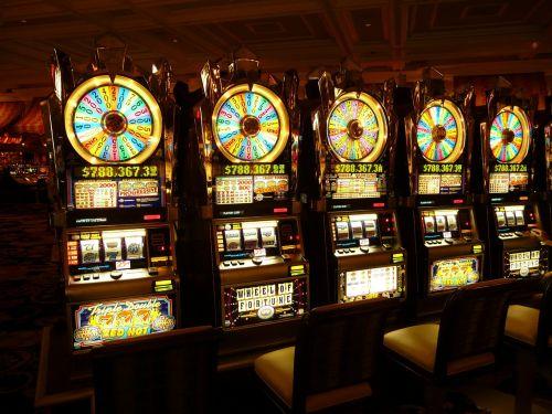 gambling machine one armed bandit money