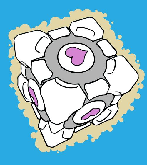 game  companion cube  portal