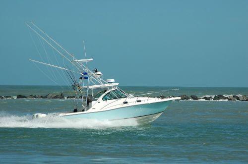 Game Fishing Boat