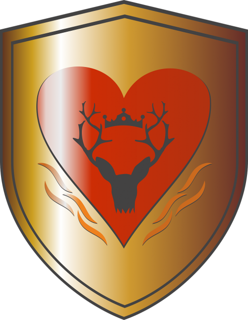 the throne game house baratheon coat of arms