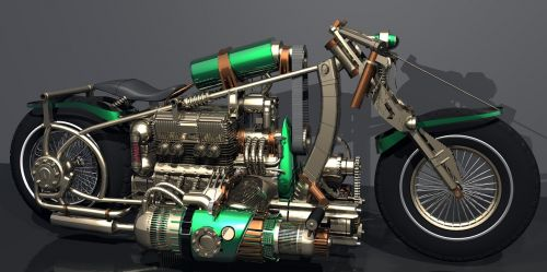 motorcycle mechanical bike