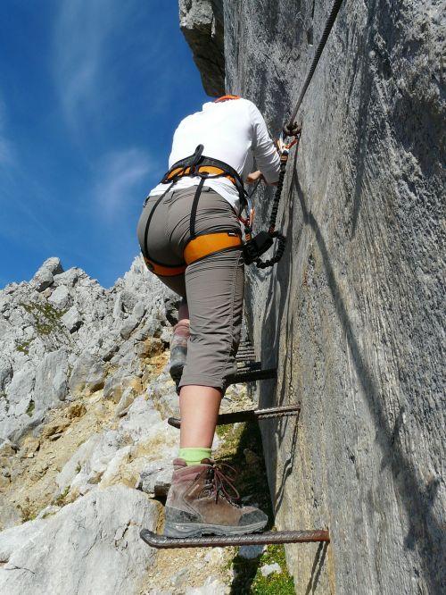 gamsängersteig climbing ellmauer halt