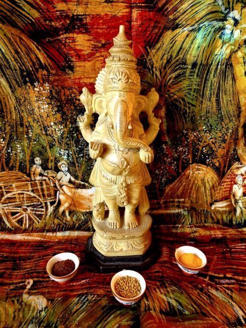 ganesh india god elefant