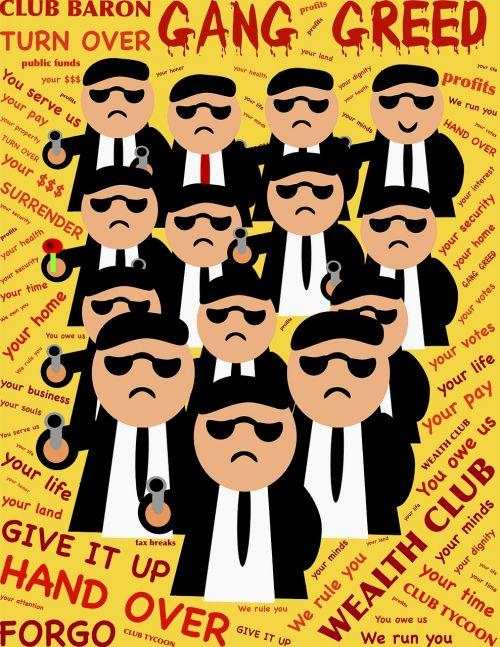 gang club greed