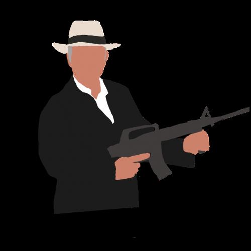 gangster retro style mafia