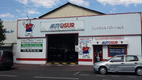 garage automobile technical control