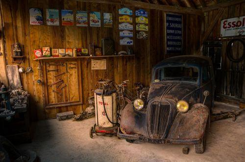 garage shop car