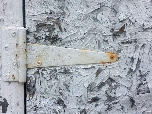 garage door hinge rust