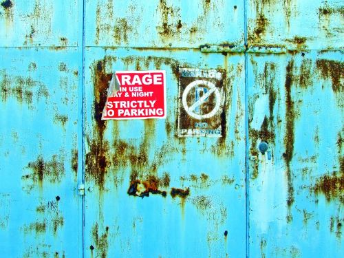 background garage doors no parking