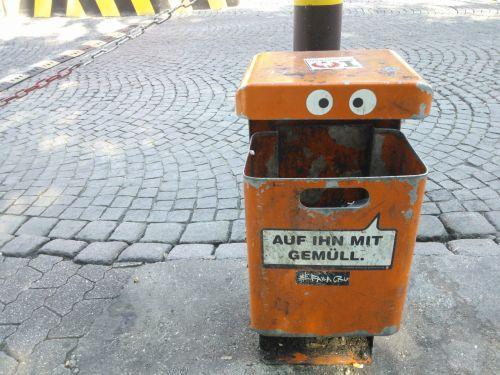 garbage garbage can waste disposal