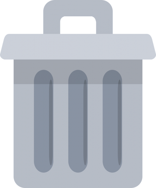 garbage icon rubbish
