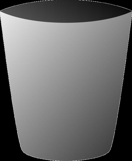 garbage bin can